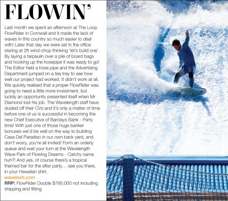 Originally printed in Wavelength Surf Magazine