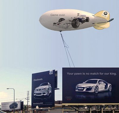 goodshoutmedia-audi-bmw-ad-war-cali-billboard-checkmate-3