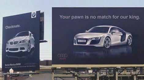 goodshoutmedia-audi-bmw-ad-war-cali-billboard-checkmate-5