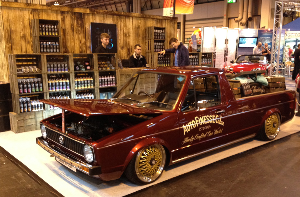 When it comes to a promotional vehicle, Auto Finesse have the whole thing down.