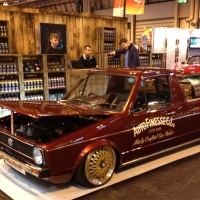 Our star cars of the #ClassicMotorShow #3: Auto Finesse Volkswagen Caddy