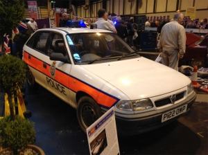 The Ex Police Vauxhall Astra