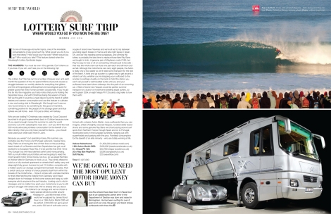 Good Shout Media: Lottery Surf Trip - The European Road Trip