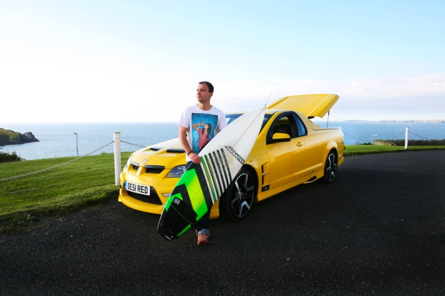 The Maloo swalows surfboards with ease
