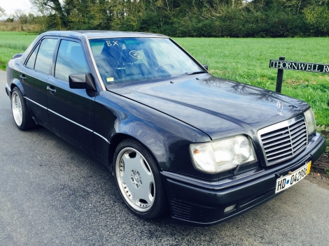 This Mercedes E60 AMG was found on eBay in November 2014, at a stately £50,000