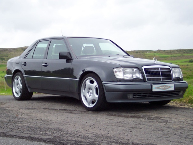 It's not the beast of Bodmin… but it sure is a beast. We love the Mercedes E60 AMG
