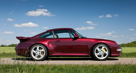 Good Shout Media's dream Porsche 993… A Turbo, in Arena Red.