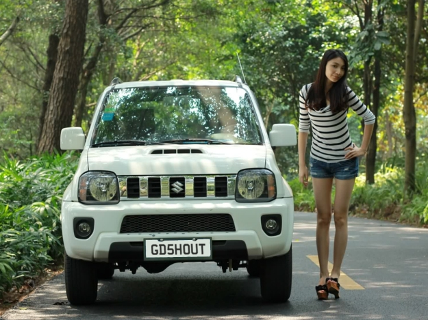 Girls love the Jimny