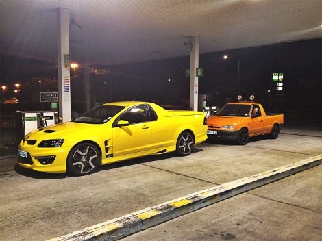 The Maloo and it's closest competition in the UK market