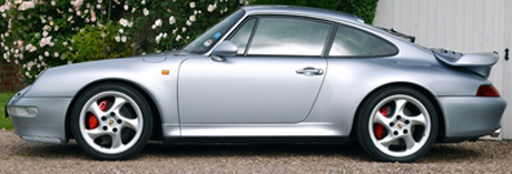 1996 Porsche 911 993 Turbo X50