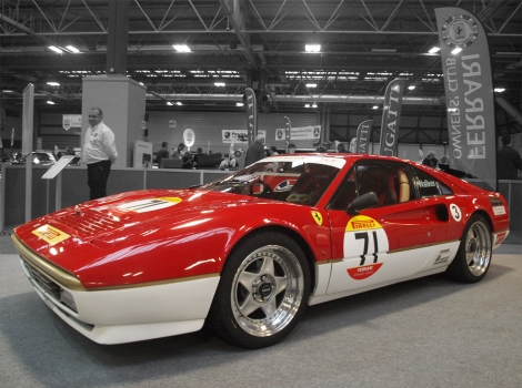 WalkerSport Ferrari 328 Good Shout Media Black and White