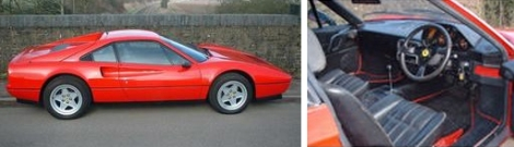The WalkerSport Ferrari 328 GTB - Before