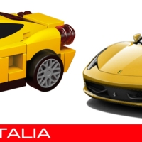 Lego Ferrari vs Real Ferrari - How accurate are the Shell Lego Ferrari cars?