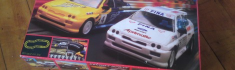 Of course, it had to be the Ford Escort RS Cosworth Rally set, featuring the legendary Michelin Pilot model