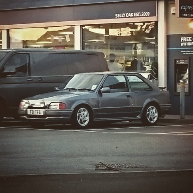 Tidy looking Ford Escort RS Turbo, nice to see what appears to be a model that hasn't been messed with too much