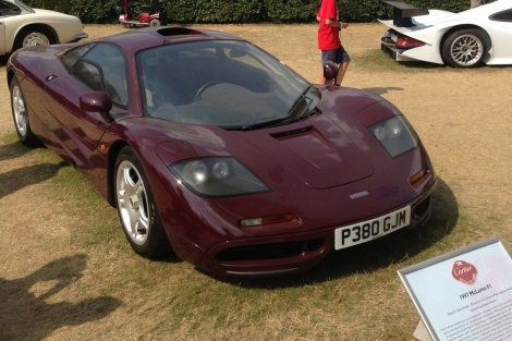 Atkinson's McLaren F1 on display at Goodwood Festival of Seed