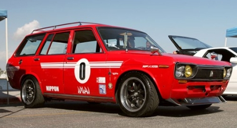 Datsun 510 Race Wagon Hotwheels Real Thing