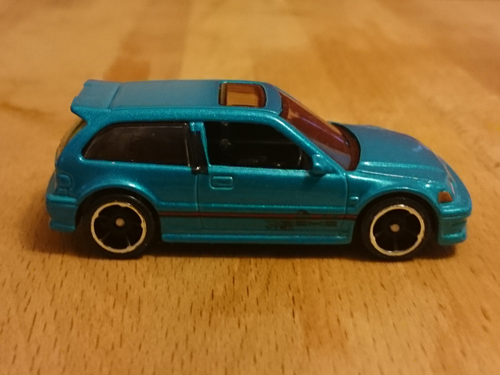 Miniature Motoring Hotwheels Honda Civic And Porsche 993