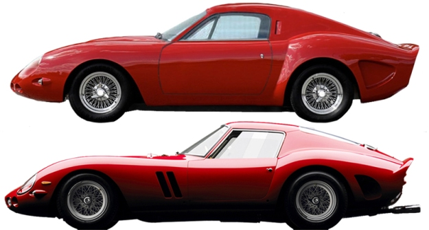 Mazda MX5 Tribute Automotive 250 GTO Comparison