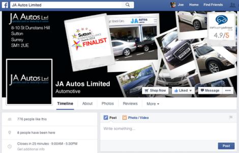 JA Autos After