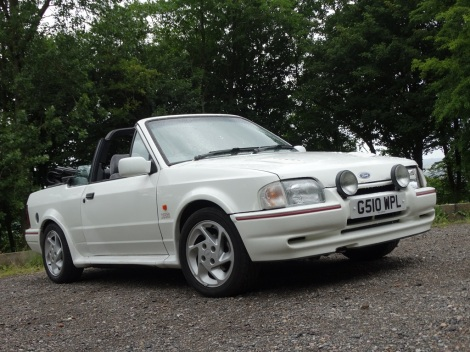 Tried & Tested (Escort Cabriolet) Pic 01
