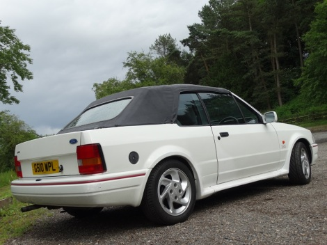 Tried & Tested (Escort Cabriolet) Pic 06