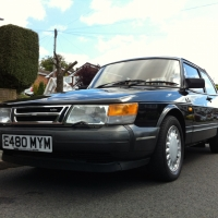 Very rare 1987 Saab 900 Turbo Sedan - for sale!