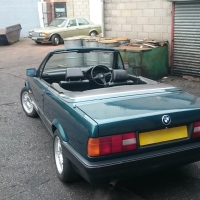 Another awesome BMW E30 Convertible for sale