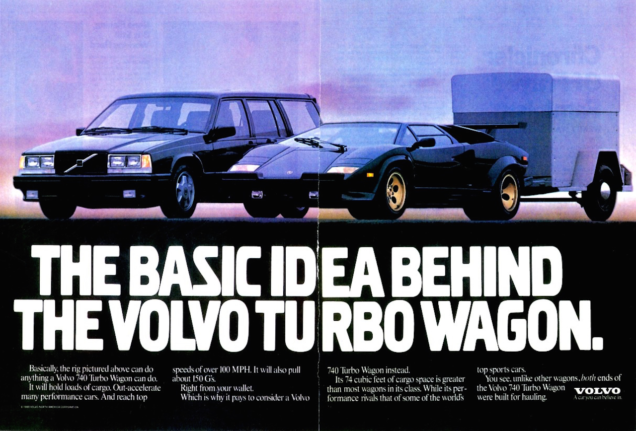 The Iconic Volvo 740 Turbo Ads Goodshoutmedia