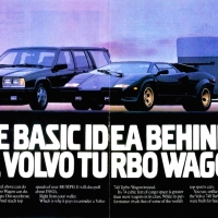 The Iconic Volvo 740 Turbo ads