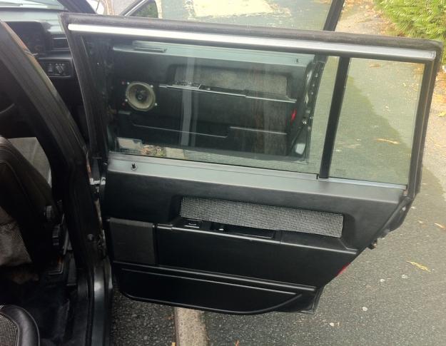 Volvo Drivers Side Door Cards