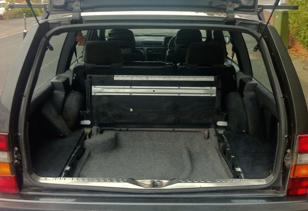 Volvo Interior Boot Up