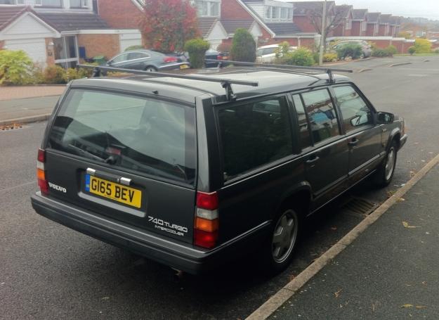Volvo Rear Side