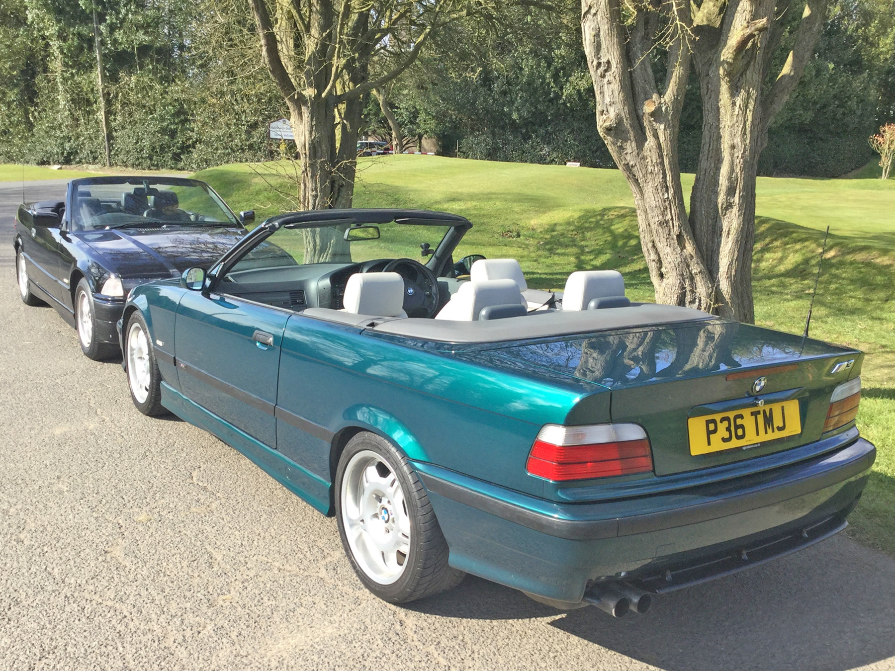 Goodshoutmedia Bmw E36 M3 Convertible Evolution 3 2 Green 0009 Layer 1 Good Shout Media Automotive Marketing Specialist
