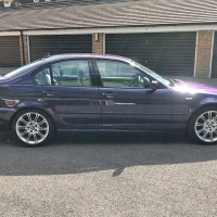 Rare BMW E46 in Techno Violet spotted on eBay...