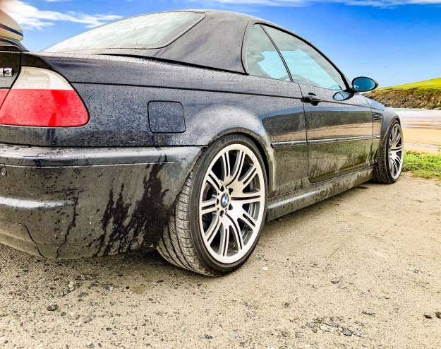 goodshoutmedia-bmw-e46-m3-polzeath-beach-4