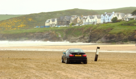 goodshoutmedia-bmw-e46-m3-polzeath-beach-5