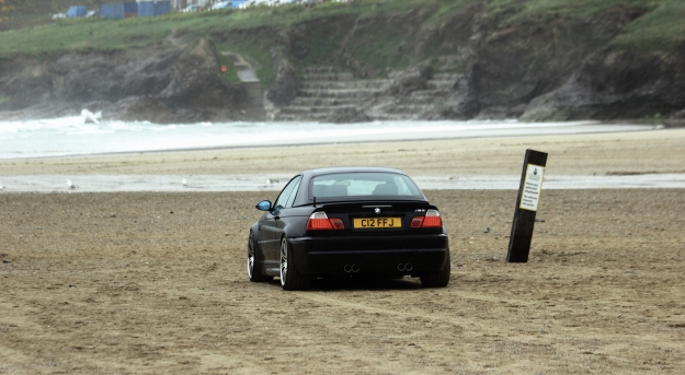 goodshoutmedia-bmw-e46-m3-polzeath-beach-7