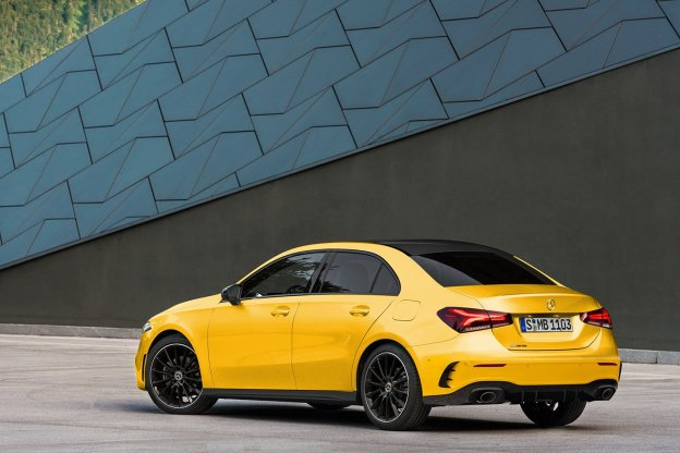 Mercedes-AMG-A35-yellow