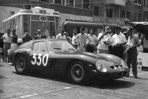 Period race photo of the 1962 Ferrari 250 GTO, s/n 3851GT