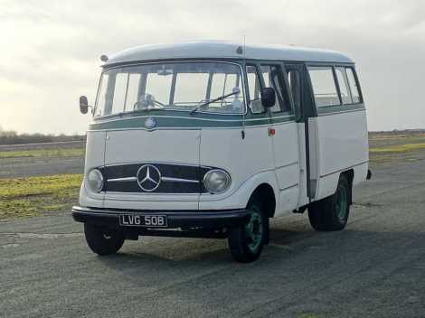 1964 Mercedes-Benz O 319 D MOT, Tax and ULEZ exempt