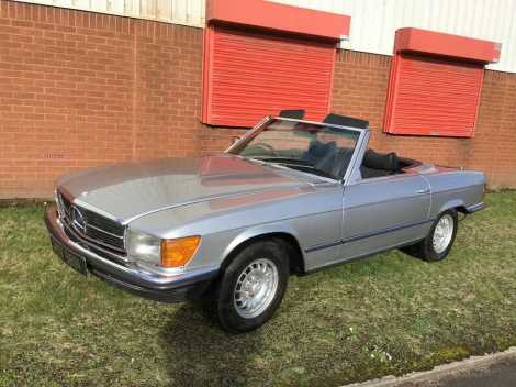 1975 Mercedes-Benz 350 SL