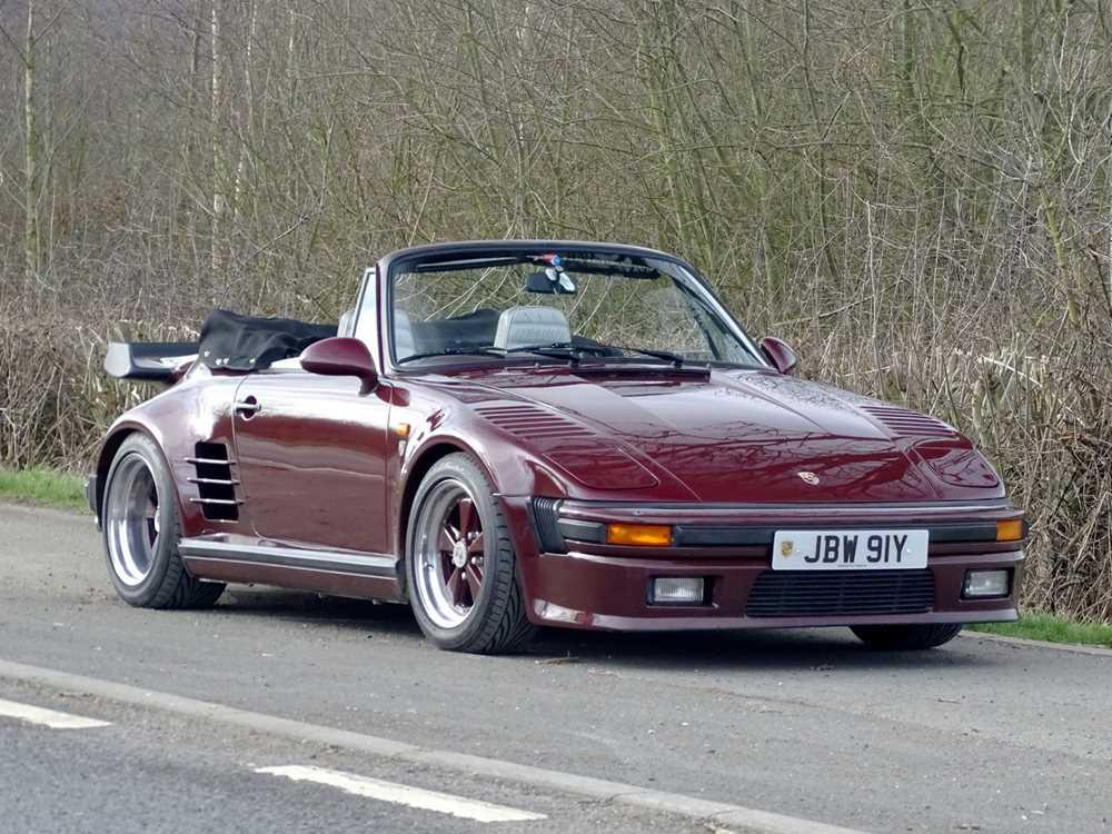 1983 Porsche 911 Turbo 'Flachbau' Cabriolet UK Delivered RHD
