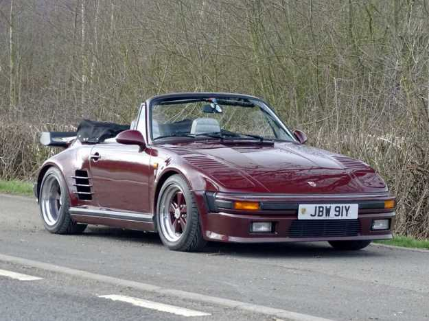 1983 Porsche 911 Turbo 'Flachbau' Cabriolet UK Delivered RHD